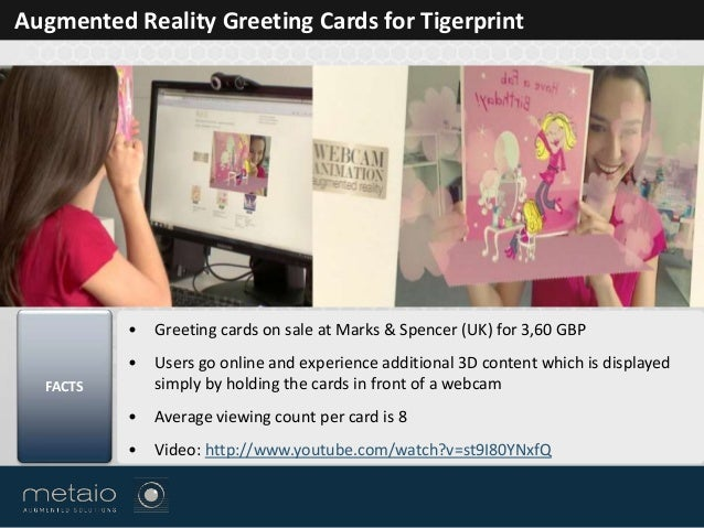 Augmented solutions for marketing 5 augmented reality greeting cards m4hsunfo Gallery