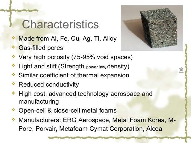 Metal foam