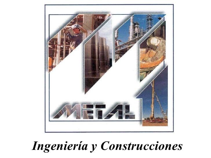 Ingeniería y Construcciones