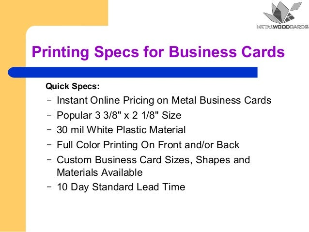 Metal business cards discounted metal cards printing specs for business cards colourmoves