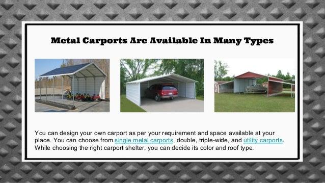 Metal Carport As A Solution