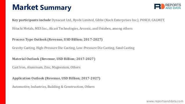 Metal casting market Slide 3