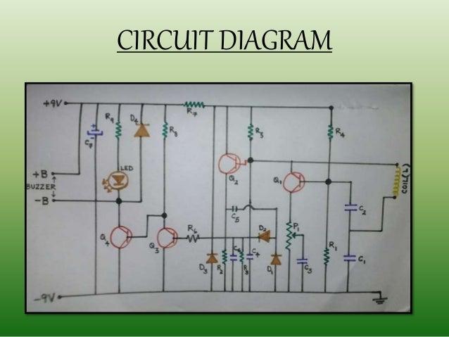 Metal detector 13 circuit diagram ccuart Choice Image