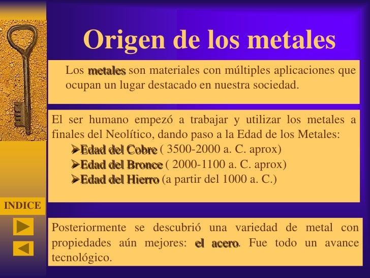 Metales - Inmobiliaria origen ...