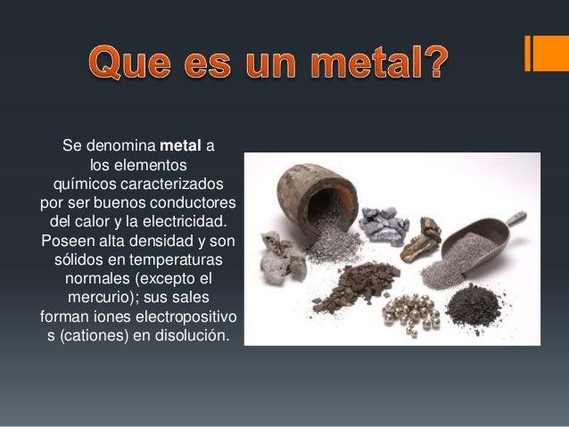 3 los metales ferrosos - Tabla Periodica Metales No Ferrosos