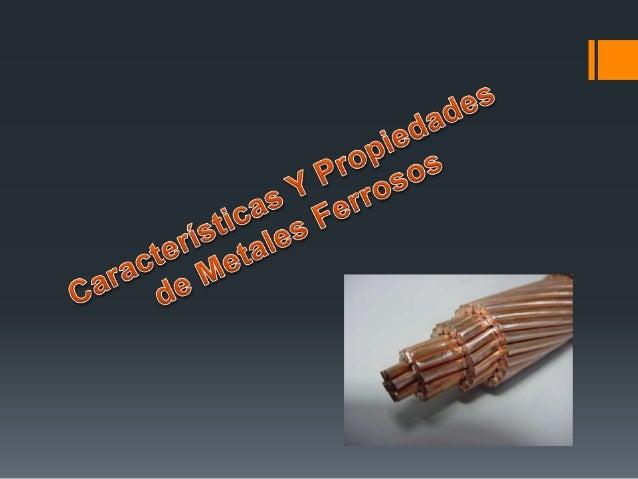 5 tipos de metales ferrosos - Tabla Periodica Metales No Ferrosos