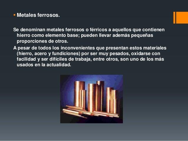 Metales ferrosos y no ferrosos 6 urtaz Choice Image
