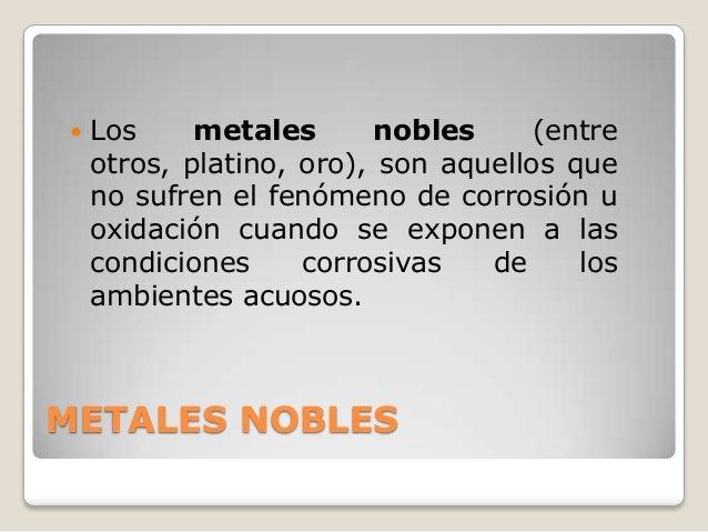 Metales nobles metales 3 urtaz Choice Image