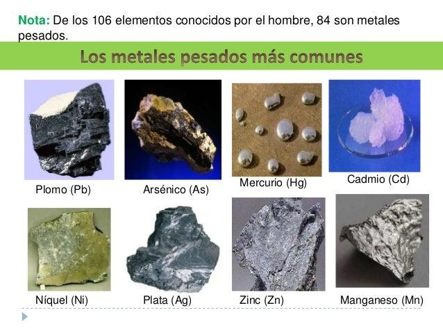 5 - Elementos De La Tabla Periodica Metales Pesados