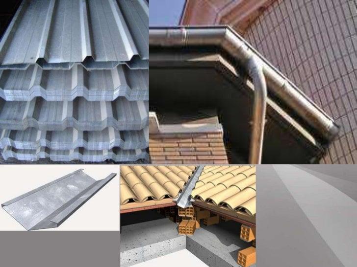Metalesss3 for Canaletas para techos de madera