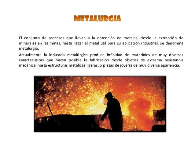 la industria metalurgica yahoo dating