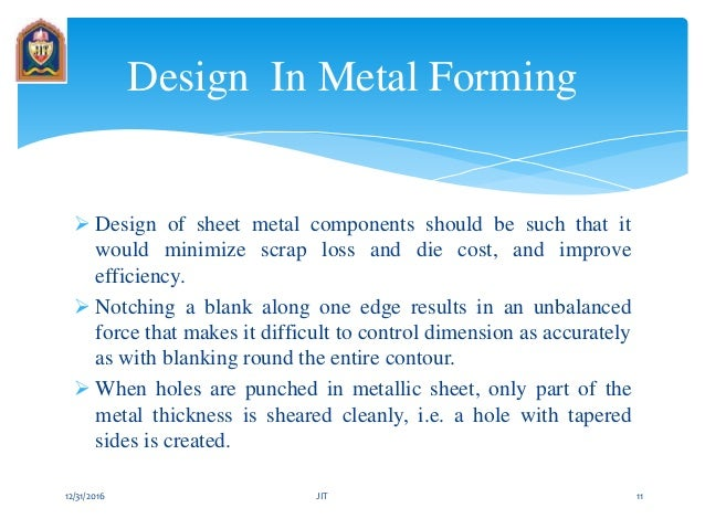 sheet metal forming process pdf