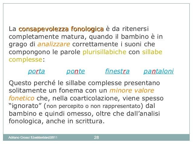 Metalinguaggio1 - Finestra in sillabe ...