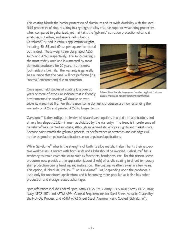 Metallic Coatings For Carbon Steel By Rob Haddock