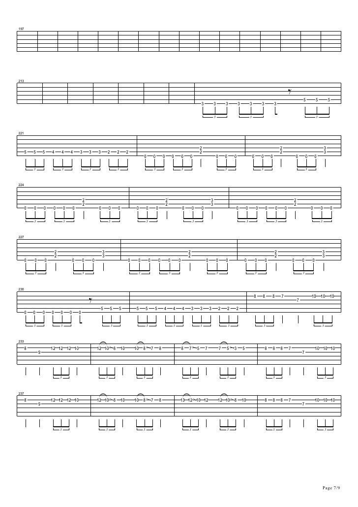 Fine Metallica One Chords Elaboration - Beginner Guitar Piano Chords ...