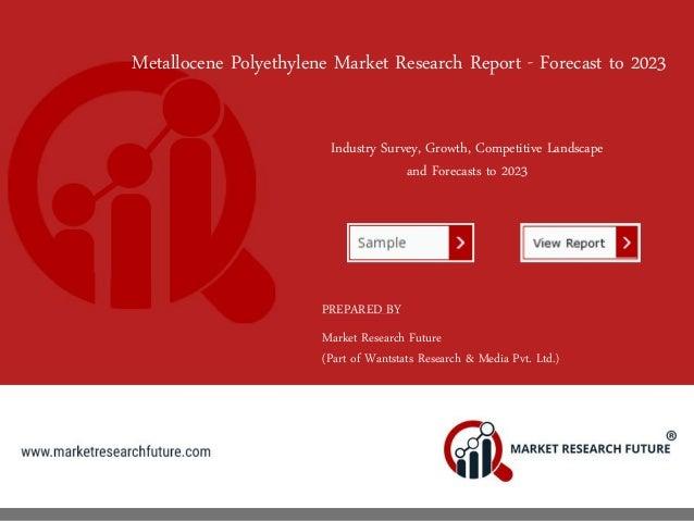 Metallocene Polyethylene Market 2018 | Forecast, Size, Growth, Opport…