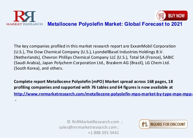 Metallocene Polyolefin Market Projected to Grow at a CAGR of 10 15%