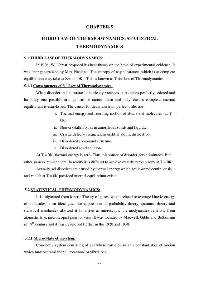 Thermodynamics Statistical Thermodynamics And Kinetics Solution