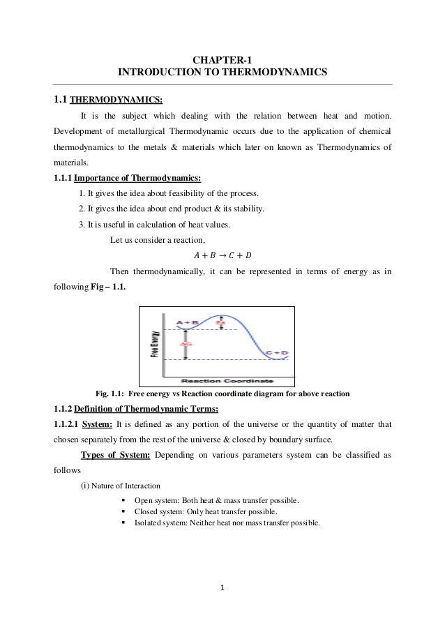 Metallurgical Thermodynamics  U0026 Kinetics Lecture Notes