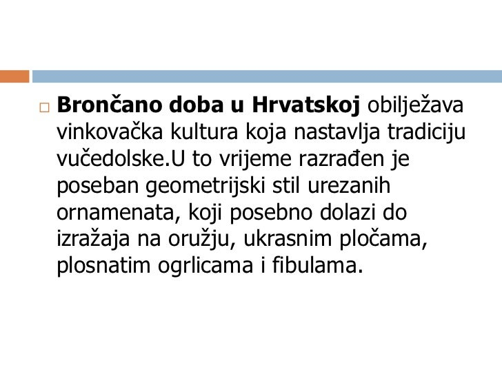Brončana igla kasno brončano doba, 13.-12. st. prijeKrista, Slavonski Brod -
