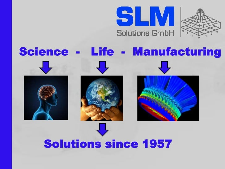 Science - Life - Manufacturing   Solutions since 1957