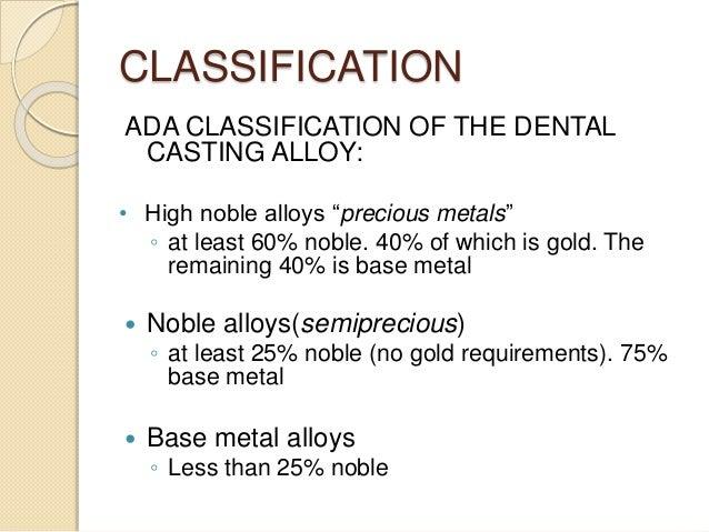 Ada classification