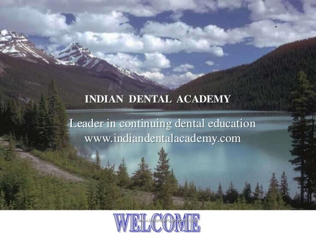 Metals and alloys for prosthodontics/ dental education in india