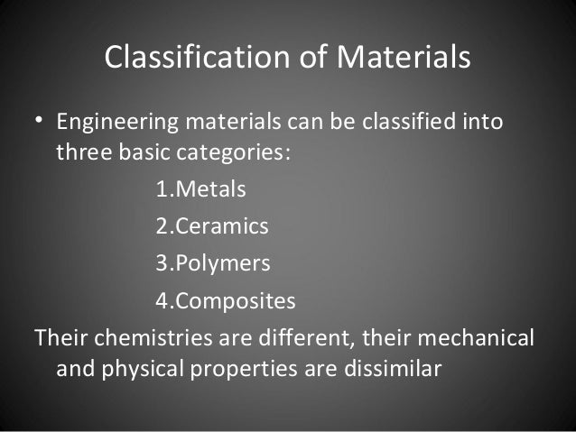 Metals And Its Properties