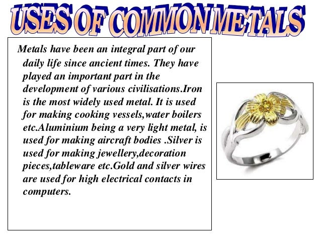 Tin Uses In Everyday Life Metals and non metals ...