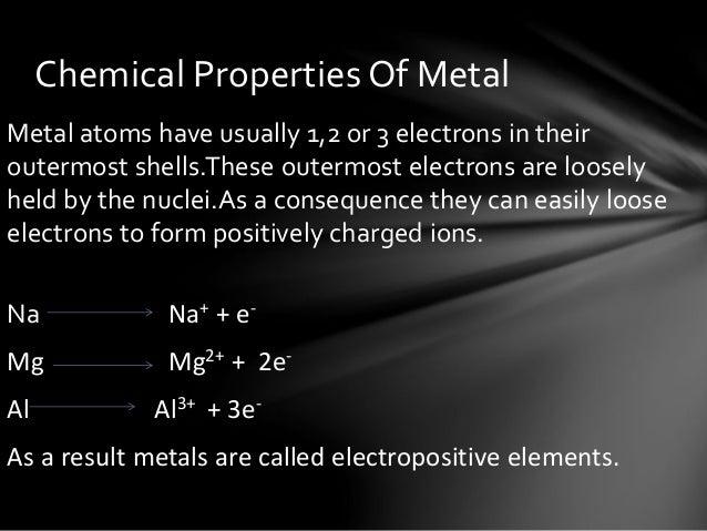 Metals & non metals