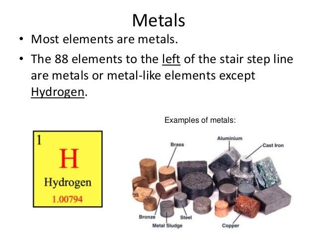 examples of metals 5