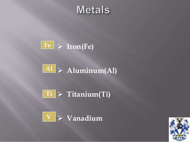 importance of metals The importance of d-block transition metals by: daniel bates  the d-block transition metals have great importance in our lives they are building blocks for life and are found directly in the center of the periodic table.