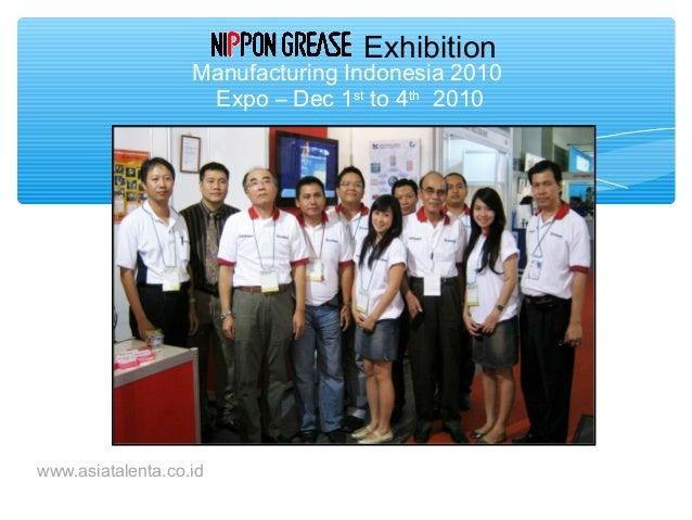 Indonesia Metalworking Fluids Specialist