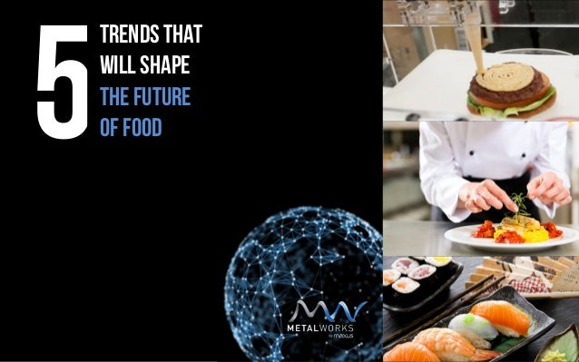 Trends That will shape The future Of Food5