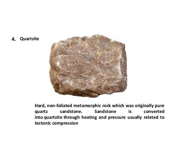 Metamorphic rocks ppt