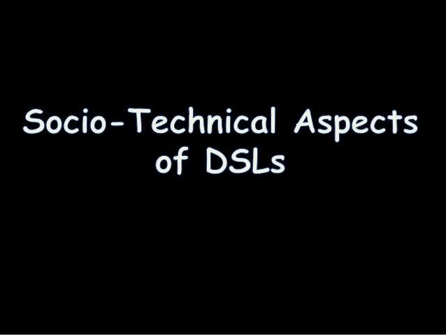 • Traditional dichotomy between internal DSL  and external DSL (Fowler et al., 2010)  – Fluent APIs  – Internal DSLs  – (d...
