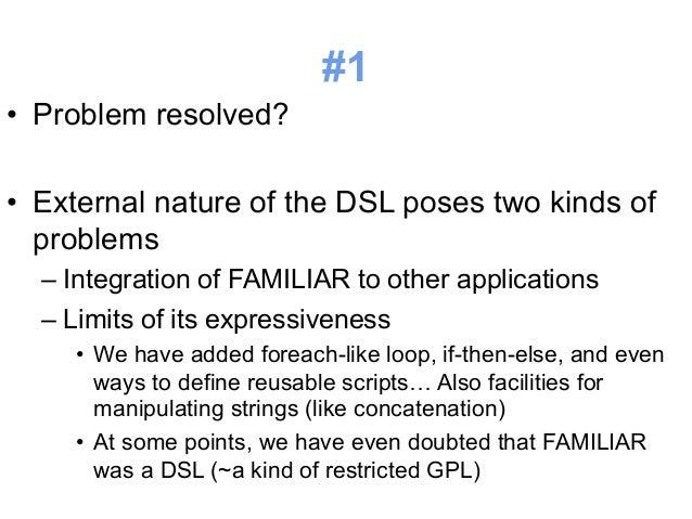 #3  • Suboptimal notation (e.g., still verbose)  • REPL