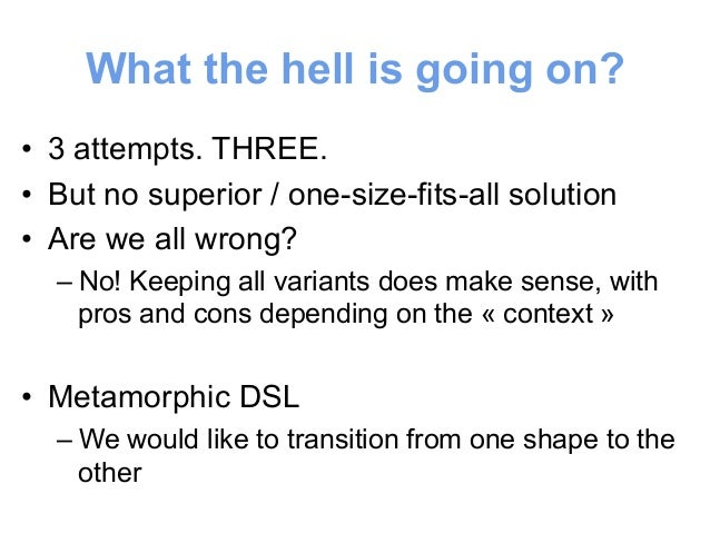 Same kind of story with SQL  • Do you want to learn SQL with Java?  • Can you rule the world with only SQL?  shape  #1  sh...