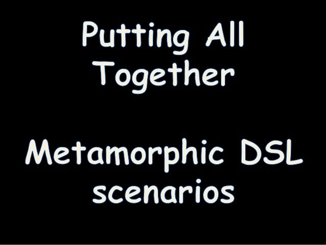 Scenario #(1+2)  • People can use the more advanced support for  understanding / debugging feature models  – And back agai...
