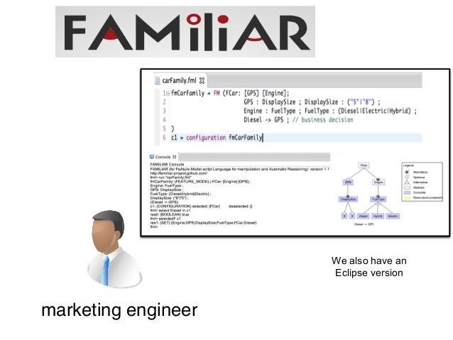 Metamorphic DSLs  FAMILIAR  definition  a  SQL  query  a  FAMILIAR  script  <<conformsTo>>  <<editedWith>>  SQL <<generate...
