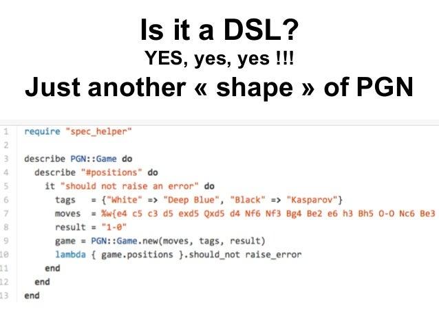 SQL in… Java  DSL in GPL  97