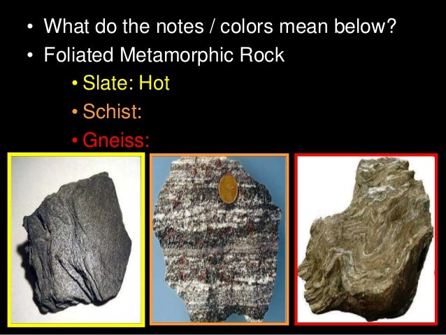 Metamorphic Rocks Earth Science Lesson Powerpoint
