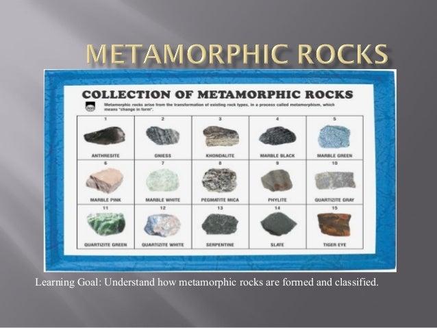 Metamorphic Rocks Process Of Formation 2014