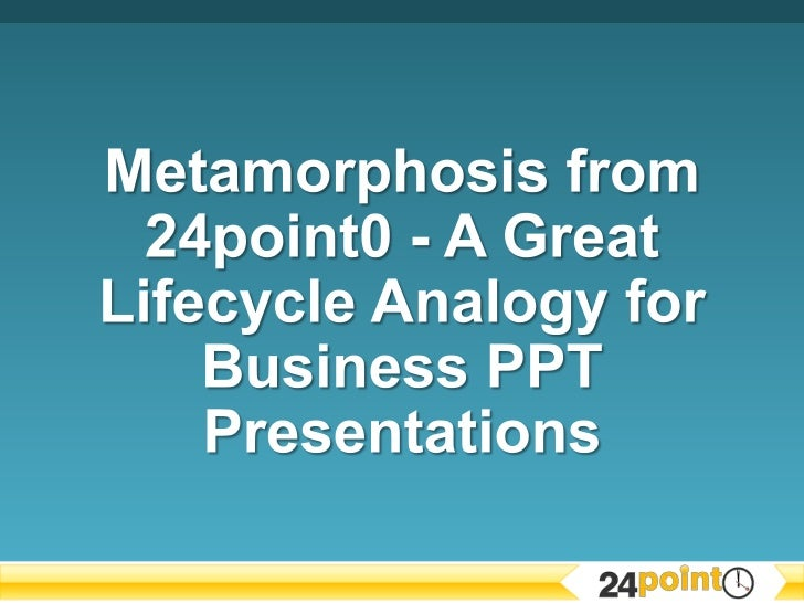24point0 has taken the oh-so-common metaphor of the lifecycle of the butterfly inits Metamorphosis Graphics deck, turning ...
