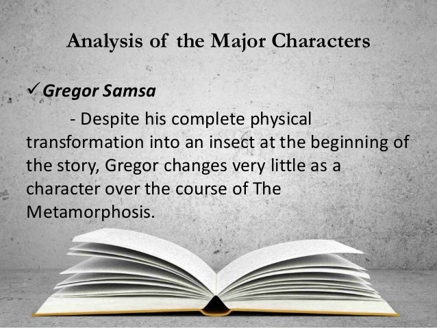 the metamorphosis literary analysis