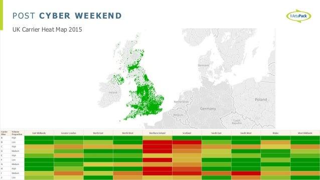 POST CYBER WEEKEND UK Carrier Heat Map 2015