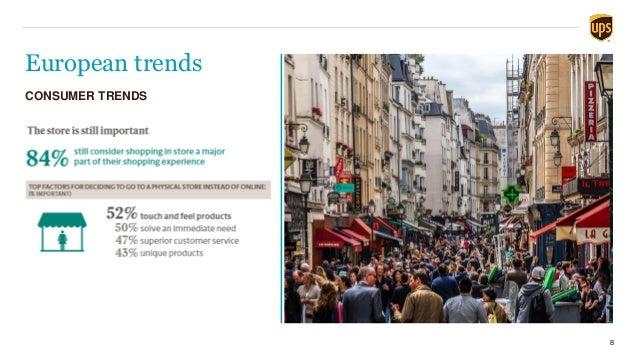 European trends 8 CONSUMER TRENDS