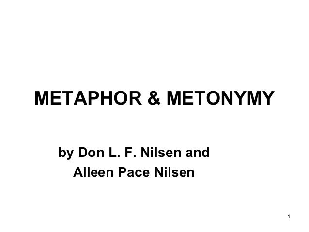 metaphor and metonym in music and Metonymy is a cognitive phenomenon—not just a figure of speech—with a considerable role in the organization of meaning (semantics), utterance production and interpretation (pragmatics), and even grammatical structure.