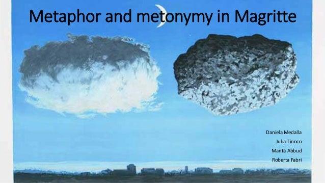 Metaphor and metonymy in MagritteDaniela MedallaJulia TinocoMarita AbbudRoberta Fabri