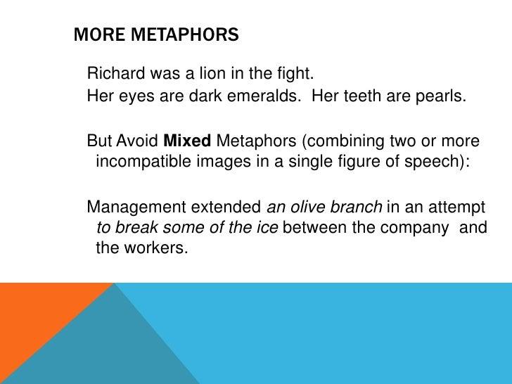 Metaphor Classslides